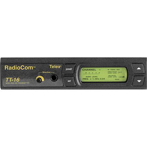 Telex TT-16 - 16-Channel Wireless IFB Base Station