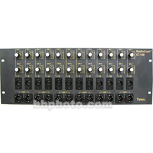 Telex IC-100 - 6-Channel Source Assign Panel