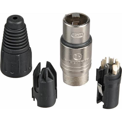 Telex A4F - 4-Pin XLR Female Headset Connector - RTS