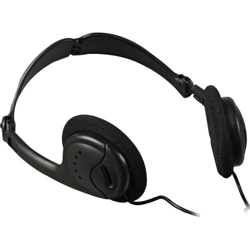 Telex HED-2 - Lightweight Collapsible Headphones for Soundmate Assistive Listening Systems
