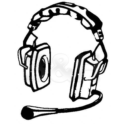 Telex PH-3R5 - Full Cushion Stereo Binaural RTS Headset