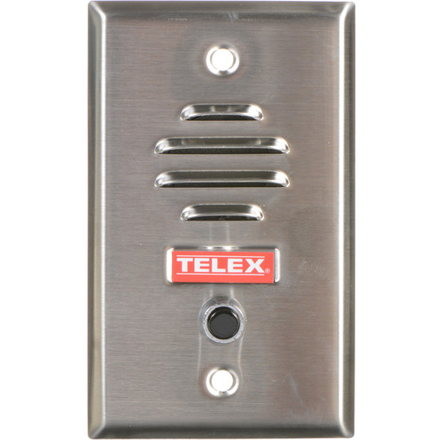 Telex WP-300S Dynamic Wall Plate Microphone with Switch