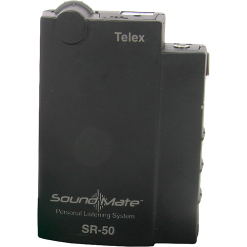 Telex SR-50 - Single Frequency Assistive Listening Receiver -  D