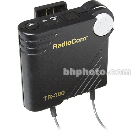 Telex TR-300 - Wireless Portable Beltpack Transceiver w/A4F 712A4