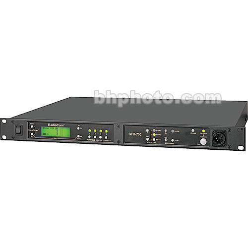 Telex BTR-700 - Single Channel Wireless Base Station w/A5F Connector - B4