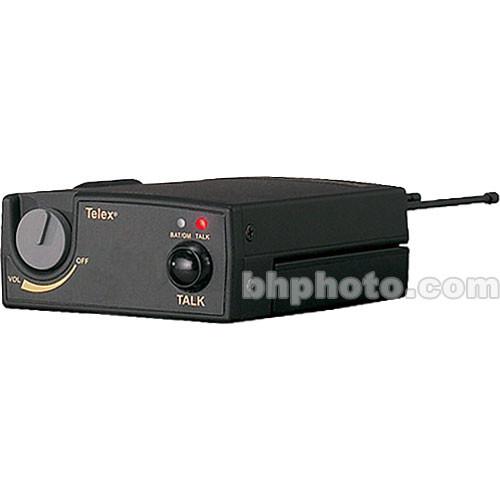 Telex TR-700 - Single Channel UHF Beltpack w/A4F Headset Connector - B4