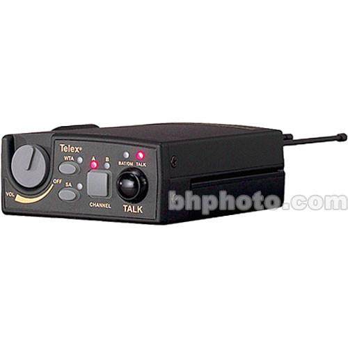 Telex TR-800 2-Channel UHF Transceiver (A5F RTS, B4: 536-554MHz Receive/668-686MHz Transmit)