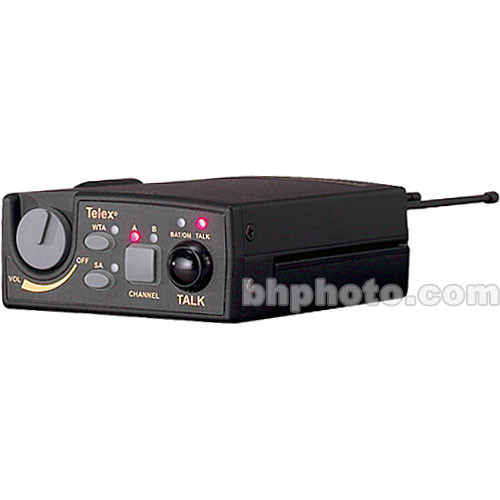 Telex TR-800 2-Channel UHF Transceiver (A4F RTS, B4: 536-554MHz Receive/668-686MHz Transmit)