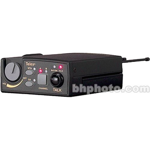 Telex TR-800 2-Channel UHF Transceiver (A5F RTS, E88: 590-608MHz Receive/470-488MHz Transmit)