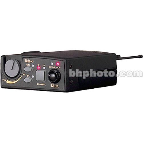 Telex TR-800 2-Channel UHF Transceiver (A4M Telex, E88: 590-608MHz Receive/470-488MHz Transmit)