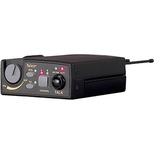 Telex TR-800 2-Channel UHF Transceiver (A4M Telex, F1: 482-500MHz Receive/614-632MHz Transmit)