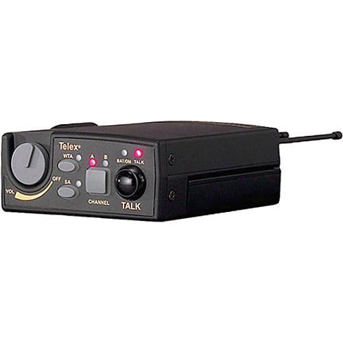 Telex TR-800 2-Channel UHF Transceiver (A4M Telex, H1: 500-518MHz Receive/614-632MHz Transmit)