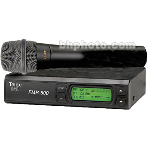 Telex FMR-500 Wireless Handheld Microphone System (Band A - 648 - 676MHz)