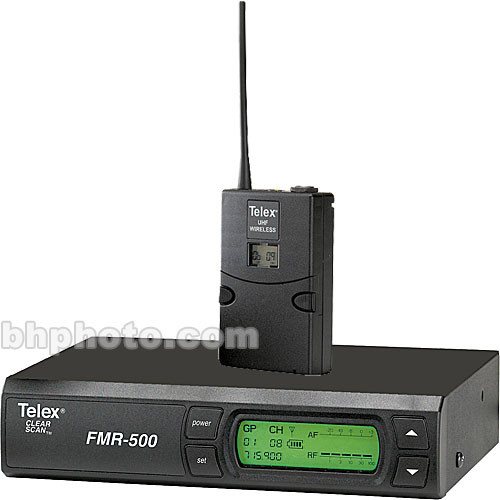Telex FMR-500 Wireless Lavalier Microphone System  (No Mic)