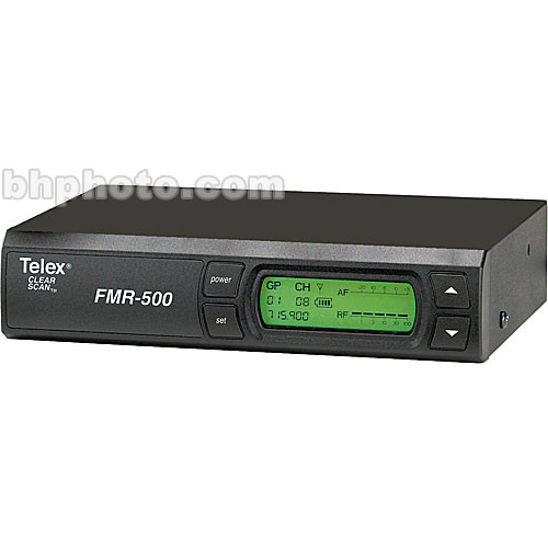 Telex FMR-500 Wireless Receiver (Band A - 648 - 676MHz)
