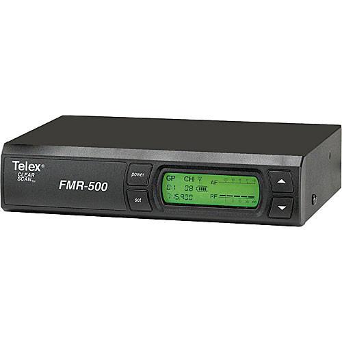 Telex FMR-500 Wireless Receiver (Band G - 614 - 638MHz)