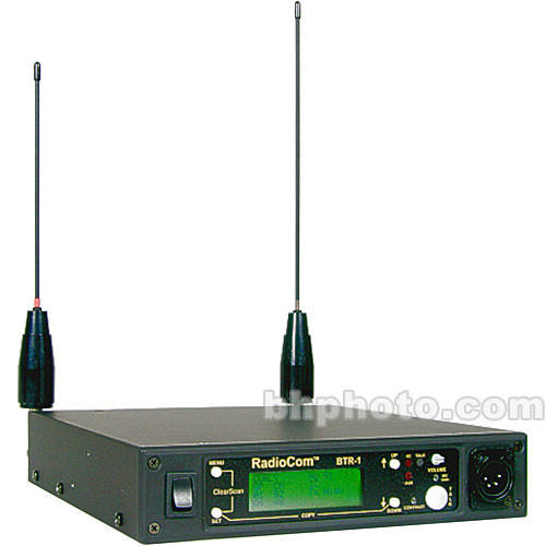 Telex BTR-1 - One-to-One UHF Intercom Base Station - F5