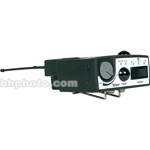 Telex TR-1 - UHF Beltpack Transceiver with Digital Encryption