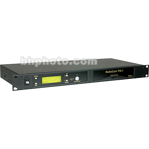 Telex FM-1 - System Manager and Setup Module