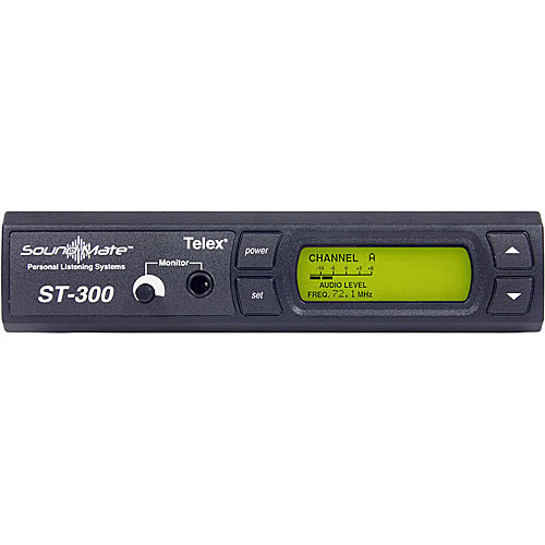 Telex ST-300 VHF Wireless Personal Listening System Transmitter