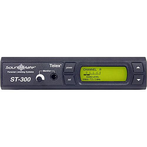 Telex ST-300 VHF Wireless Personal Listening System Transmitter
