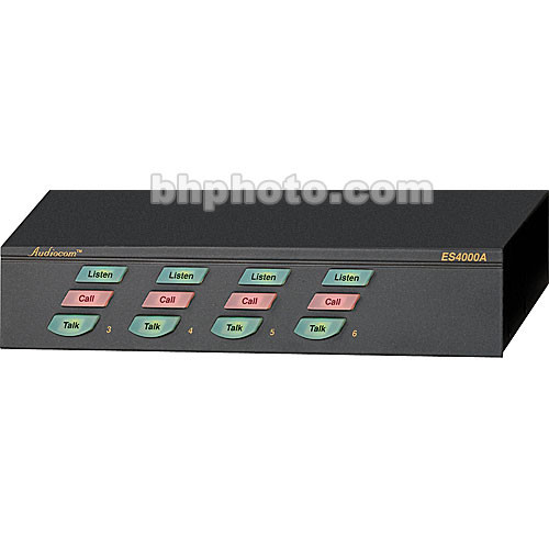 Telex ES-4000A - 4-Channel Wired Intercom Expansion User Station