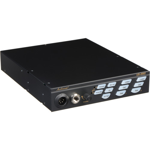 Telex US-2002 - 2-Channel Wired Intercom User Station