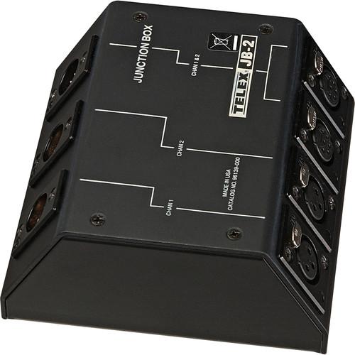 Telex JB-2 - 2x1 Microphone Splitter and Junction Box