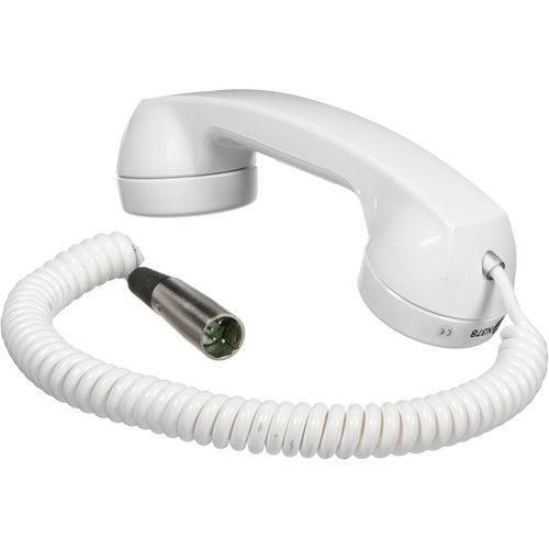 Telex HS-6A Telephone-Style Intercom Handset (Black)