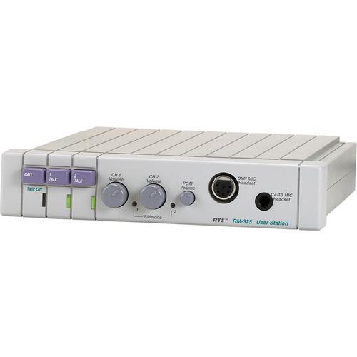 Telex RM-325 2-Channel Intercom User Station (A5F)