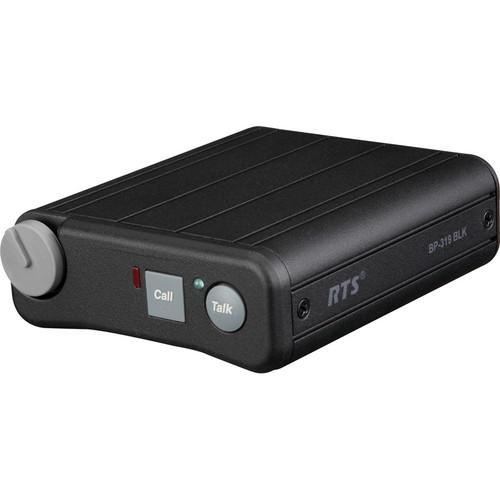 Telex BP-319 Single-Channel Portable Beltpack (A5F, Black)