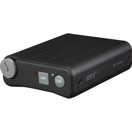 Telex BP-319 Single-Channel Portable Beltpack (A4F, Black)