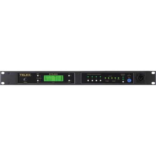Telex BTR-80N 2-Channel UHF Base Station (A4M Telex, B2: 536-554MHz Transmit/632-650MHz Receive)