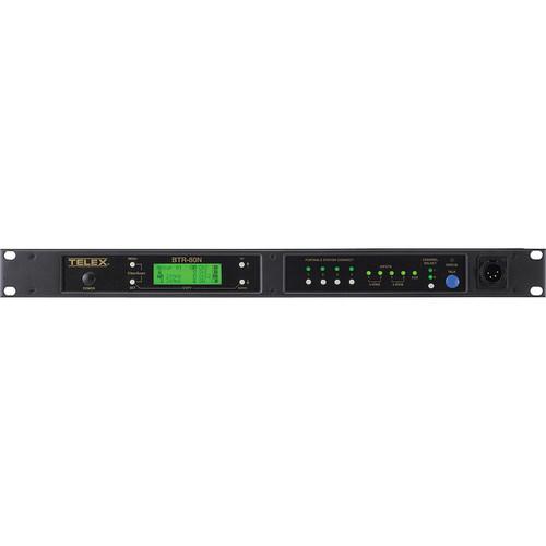 Telex BTR-80N 2-Channel UHF Base Station (A4F RTS, D4: 572-590MHz Transmit/668-686MHz Receive)