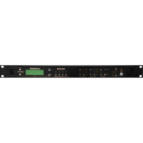 Telex BTR-800 2-Channel UHF Base Station (A4M Telex, H4: 500-518MHz Transmit/668-686MHz Receive)