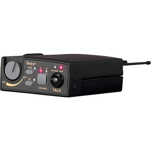 Telex TR-800 2-Channel UHF Transceiver (A5F RTS, F1: 482-500MHz Receive/614-632MHz Transmit)