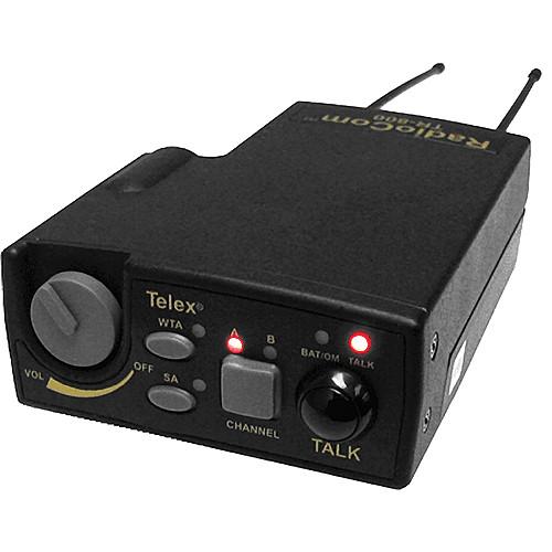 Telex TR-800 2-Channel UHF Transceiver (A4M Telex, H4: 500-518MHz Receive/668-686MHz Transmit)