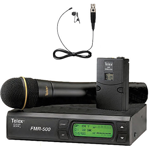 Telex FMR-500 Wireless Microphone System