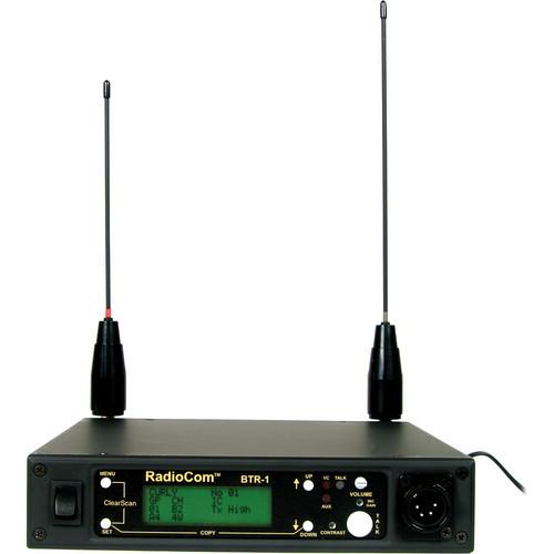 Telex BTR-1 - 1-to-1 UHF IUHF Full-Duplex, Digitally Encrypted Wireless Transceiver