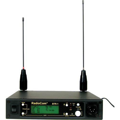 Telex BTR-1 - 1-to-1 UHF IUHF Full-Duplex, Digitally Encrypted Wireless Transceiver