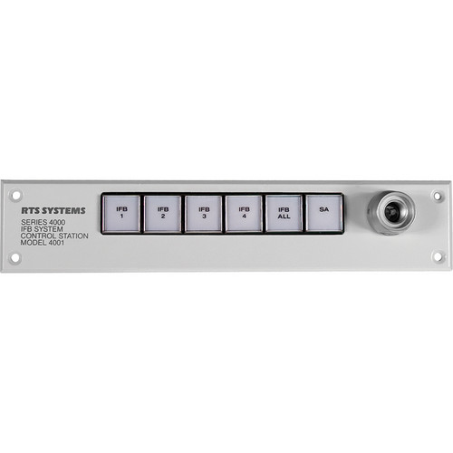 Telex 4-Position Control Station For 4 IFB, 1 SA