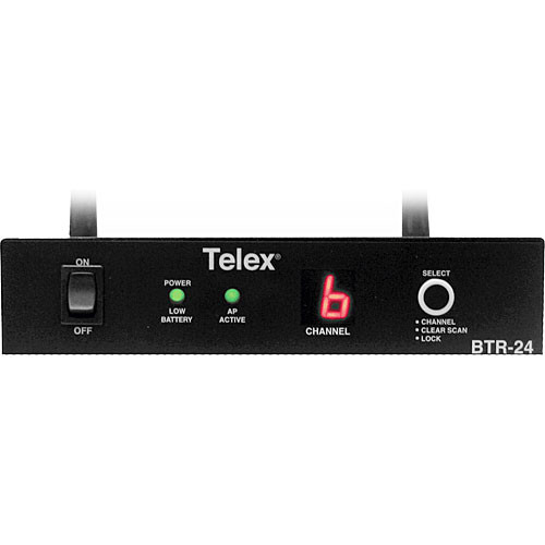 Telex BTR-24 - 2.4GHz Multi-Channel Wireless Base Station Access Point