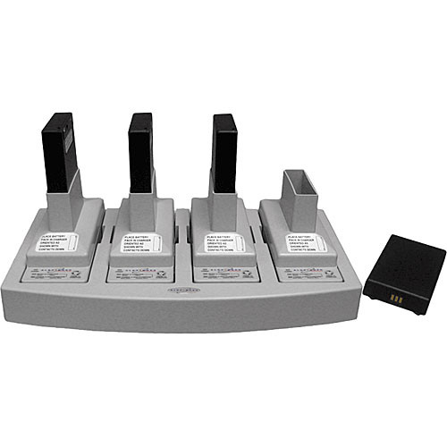 Telex BC800NM4 - 4-Bay Battery Charger for TR-1/700/800/825/RKP-4 (US)