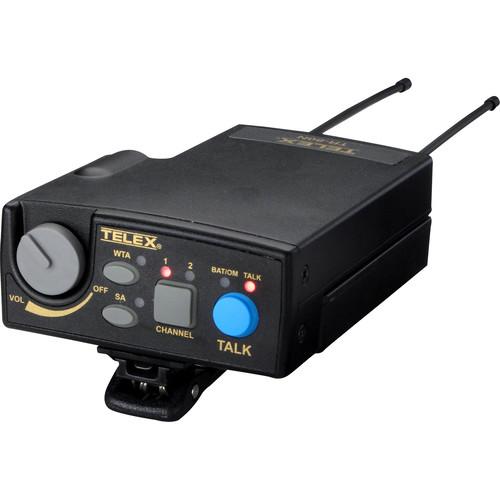 Telex TR-80N 2-Channel UHF Transceiver (A4M Telex, B1: 536-554MHz Receive/614-632MHz Transmit)