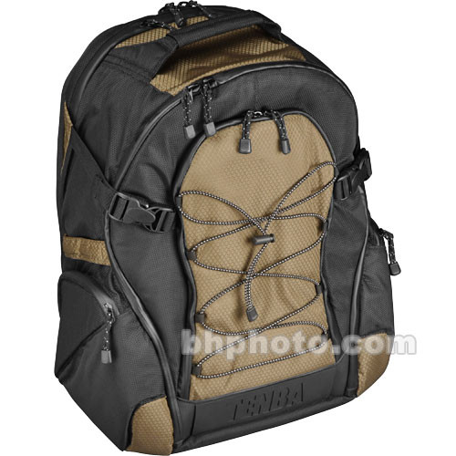 Tenba Shootout Backpack, Small (Black and Olive)