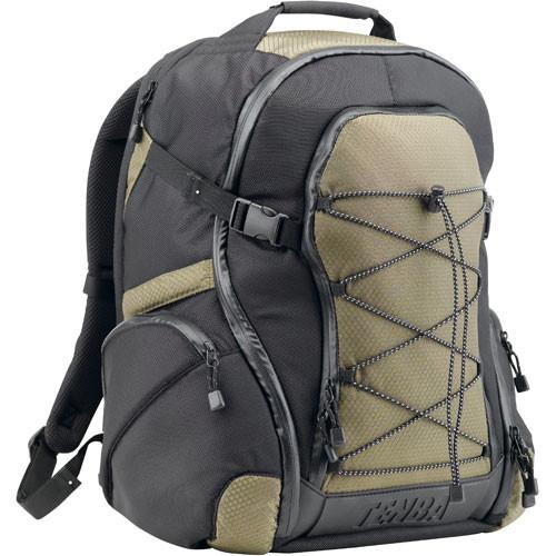 Tenba Shootout Backpack, Medium (Black/Olive)