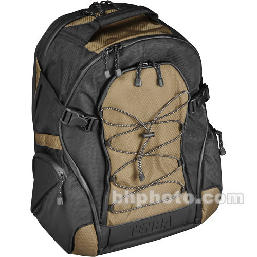 Tenba Shootout Backpack, Large(Black and Olive)