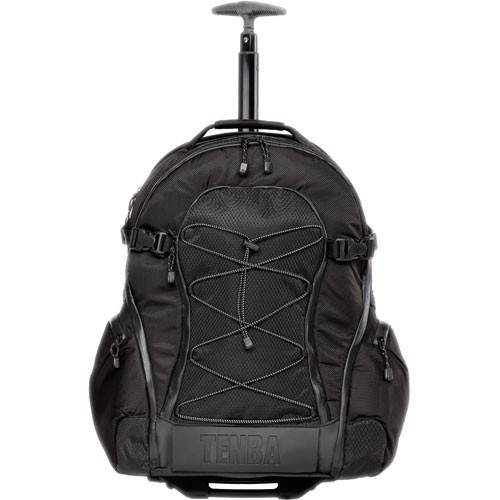 Tenba Shootout Rolling Backpack, Large (Black)