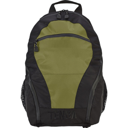 Tenba Shootout Ultralight Backpack (Black with Olive Trim)