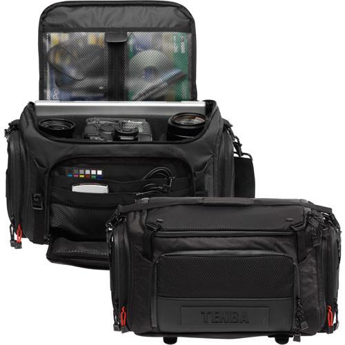 Tenba Shootout Large Shoulder Bag (Black)